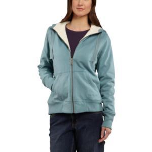 Carhartt Women's Stockbridge Sherpa Lined Sweatshirt-Irregular