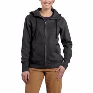 Carhartt Women's Clarksburg Zip-Front Sweatshirt-Irregular