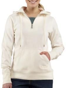 Carhartt Women's Clarksburg Quarter-Zip Sweatshirt-Irregular