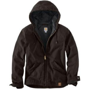 Carhartt Men's Washed Quilt Lined Duck Jackets - Irregular