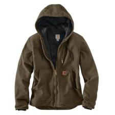 Carhartt Men's Sandstone Hooded Jacket - Irregular 100786irr