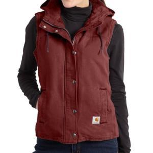 Carhartt_Carhartt Women's Sandstone Berkley Vest II-CLOSEOUT