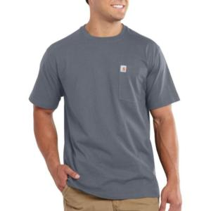 Carhartt Men's Maddock Pocket Short-Sleeve T-Shirt-Irregular