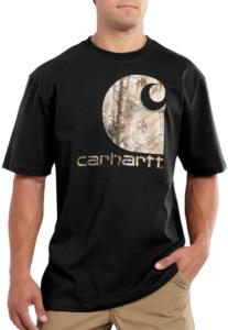 Carhartt Men's Workwear Graphic Camo C Short-Sleeve T-Shirt - Irregular