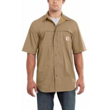 Carhartt Force Men's Mandan Solid Short-Sleeve Woven Shirt 101178