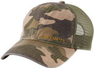 Carhartt Men's Brandt Camo Cap - Irregular