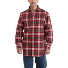 Carhartt Men's Hubbard Plaid Long-Sleeve Shirt 101294