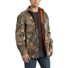 Carhartt Men's Wexford Camo Shirt Jac 101462