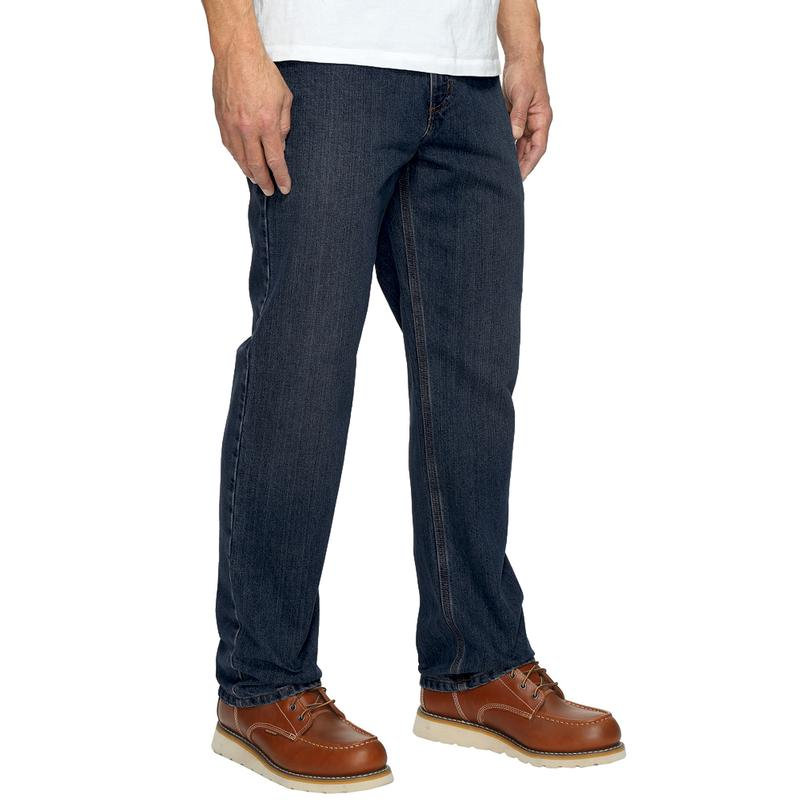 l'atteggiamento migliore d3c10 484ec Carhartt Mens Relaxed Fit Holter Jeans - Irregular