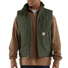 Carhartt Mens Duck Jefferson Vest 101494