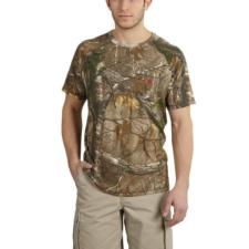 Carhartt Mens Force Cotton Delmont Camo Short-Sleeve T-Shirt 101543