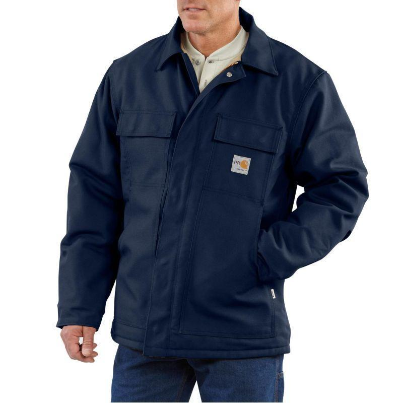 Carhartt Mens Flame Resistant Duck Traditional Coat