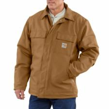 97883d5a75d9 CO100163 CLOSEOUT CARHARTT CANVAS BIB OVERALL UNLINED Source · Carhartt Mens  Flame Resistant Duck Traditional Coat IRR 101618irr