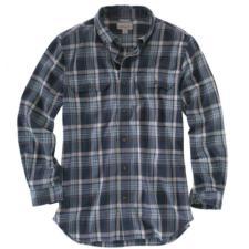 Carhartt Mens Fort Plaid Long-Sleeve Shirt 101756