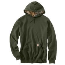 Carhartt Mens Midweight Haughton Camo Hood Lined Sweatshirt 101758