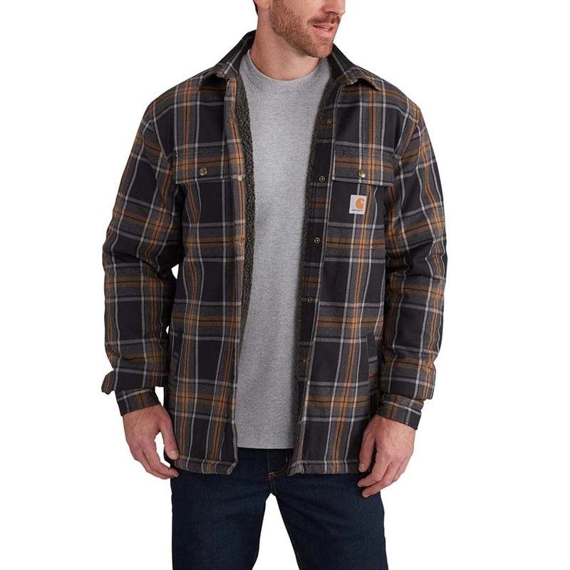 Mens Green Plaid Shirt