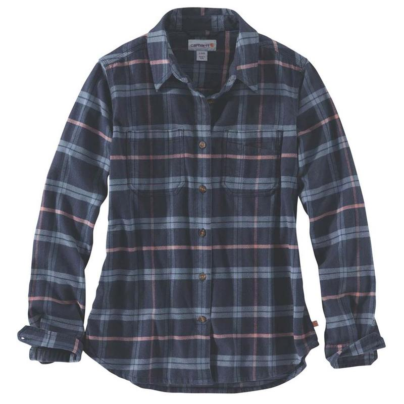 Flannel Irregular Women's Carhartt Shirt Flex Hamilton Rugged cuK3F1TlJ