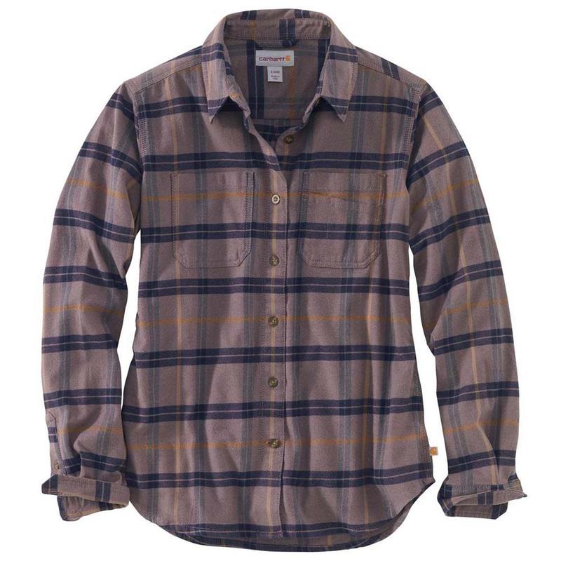 Carhartt Rugged Shirt Flannel Women's Flex Hamilton Irregular shQrtdC