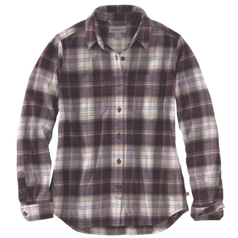 Women's Shirt Hamilton Rugged Flannel Carhartt Flex Irregular MqpUzVSG
