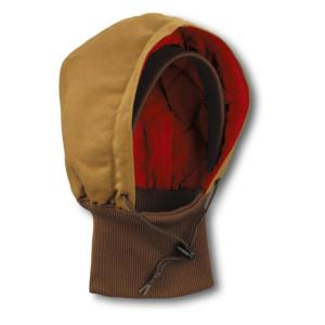 Carhartt Duck Hoods with Knit Collar - Quilted Flannel Lined