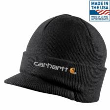 Carhartt_Carhartt Winter Knit Hat with Visor - Irregular