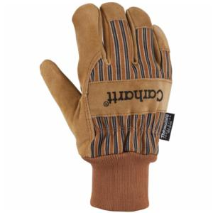 Carhartt Men's Insulated Suede Work Glove (Knit Cuff)