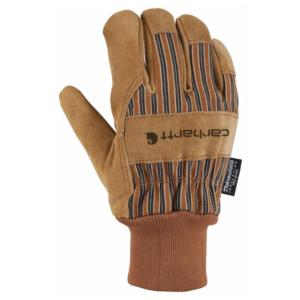 Carhartt Men's Suede Work Glove (Knit Cuff)