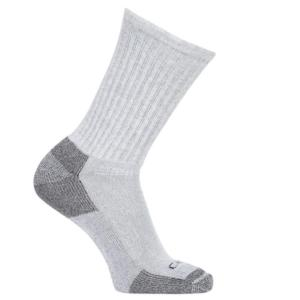 Carhartt All-Season Cotton Crew Work Sock (3-Pack)