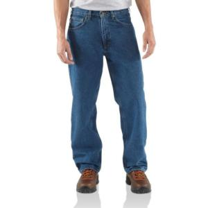 Carhartt Flannel Lined Relaxed Fit Jeans - Irregular