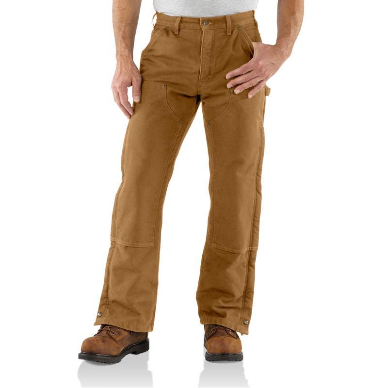Carhartt Sandstone Quilt Lined Waist Overall - Closeout