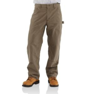 Carhartt Men's Double-Front Canvas Work Dungarees
