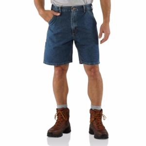 Carhartt  Men's Denim Work Shorts - Irregular