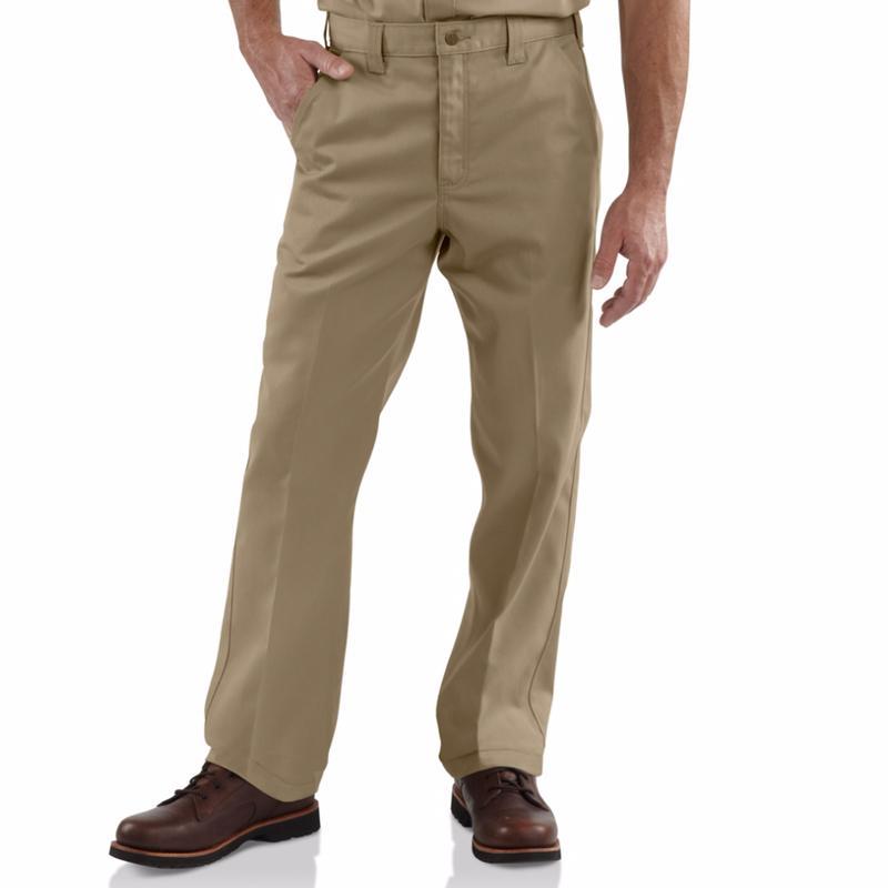 Carhartt Men's Twill Work Pants-Irregular
