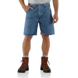 Carhartt Men's Denim Work Carpenter Shorts