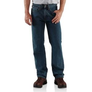 Carhartt Men's Relaxed Fit Straight Leg Jeans - Irregular