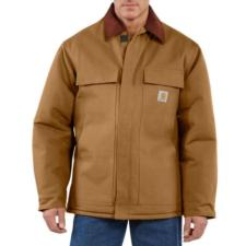Carhartt Duck Traditional Arctic Quilt-Lined Coat-Irregular C003IRR