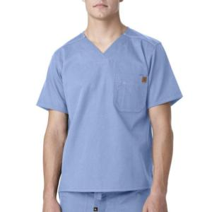 Carhartt Men's Solid Ripstop Utility Scrub Top