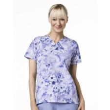 Carhartt Women's V-Neck Print Scrub Top C17007