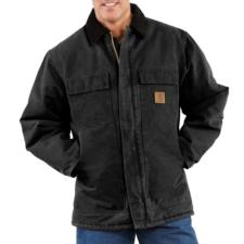 Carhartt Quilt Lined Sandstone Duck Arctic Traditional Coat - Irregular C26IRR