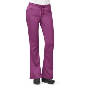 Carhartt Women's Work-Flex 3 Pocket Flare Leg Scrub Pant