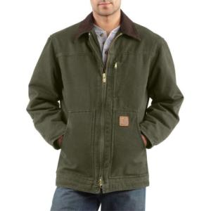 Carhartt Men's Sandstone Ridge Coats - Sherpa Lined