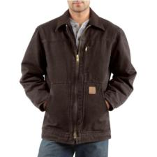 Carhartt Men's Sandstone Ridge Coats - Sherpa Lined C61