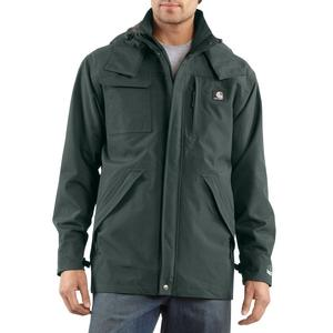 Carhartt Men's Waterproof Breathable Rain Coat