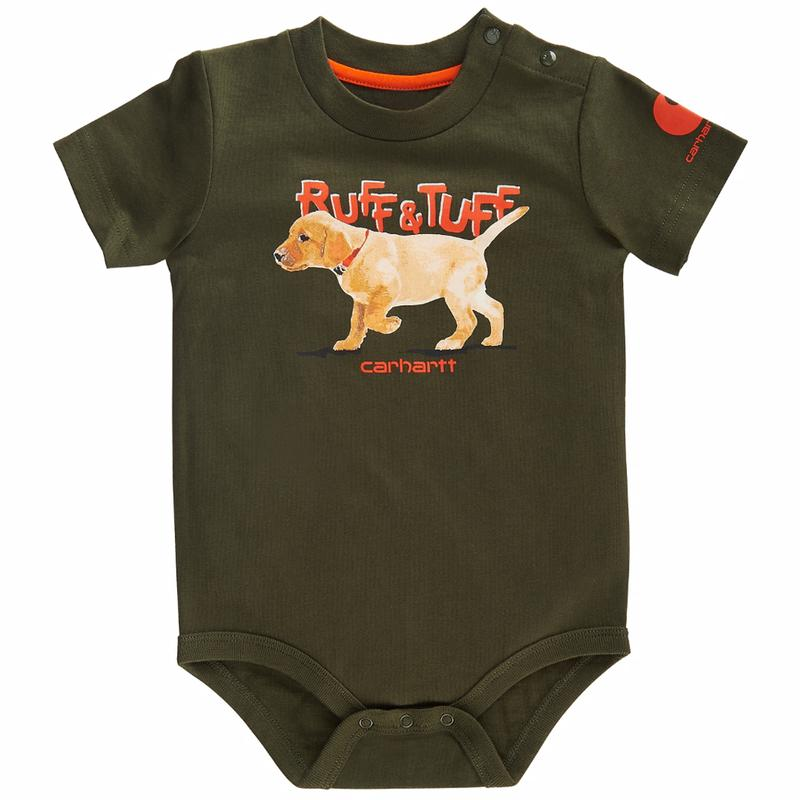 Carhartt Infant Ruff  and  Tuff Bodyshirt