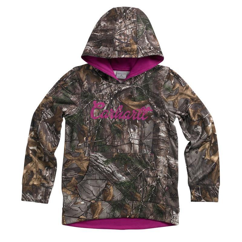 Carhartt Camo Fleece Girls Sweatshirt