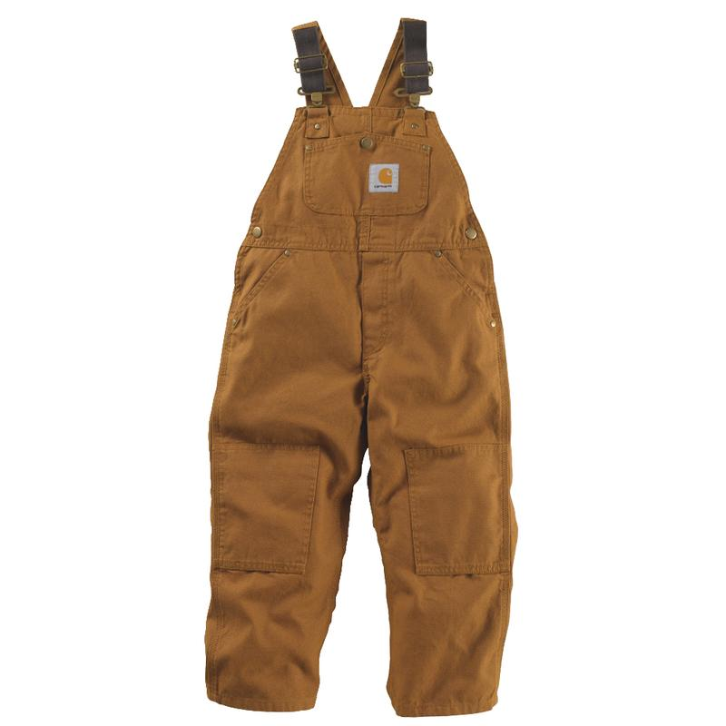 Carhartt Boy's Washed Duck Bib Overall