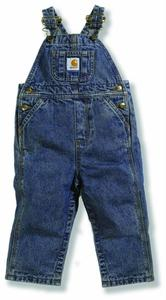 Carhartt Washed Denim Bib Overall  - Infants