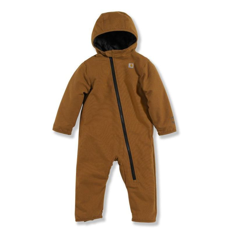 Carhartt Infant Quick Duck Quilted Taffeta Lined Snowsuit