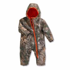 Carhartt  Infant Boys' Camo Quilted Taffeta Lined Snowsuit CM8654