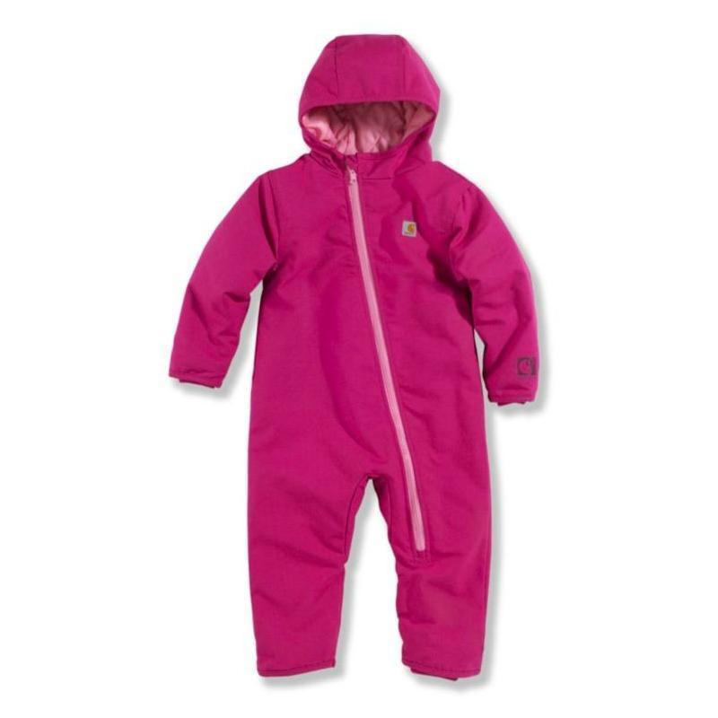 Carhartt Infant Girls' Duck Quilted Taffeta Lined Snowsuit